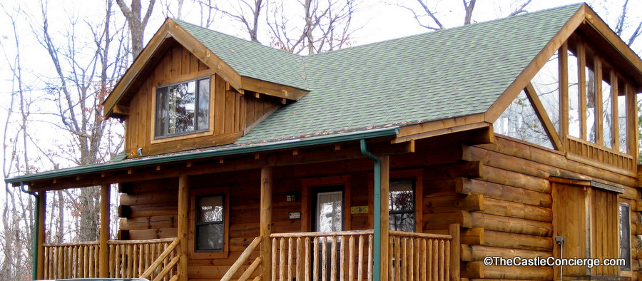 Choose a cabin that will accommodate your family -- big or small!