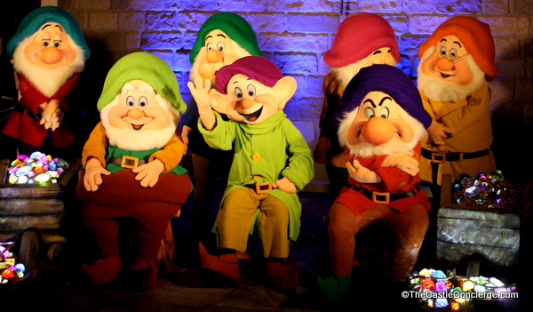 Seven Dwarfs at Magic Kingdom