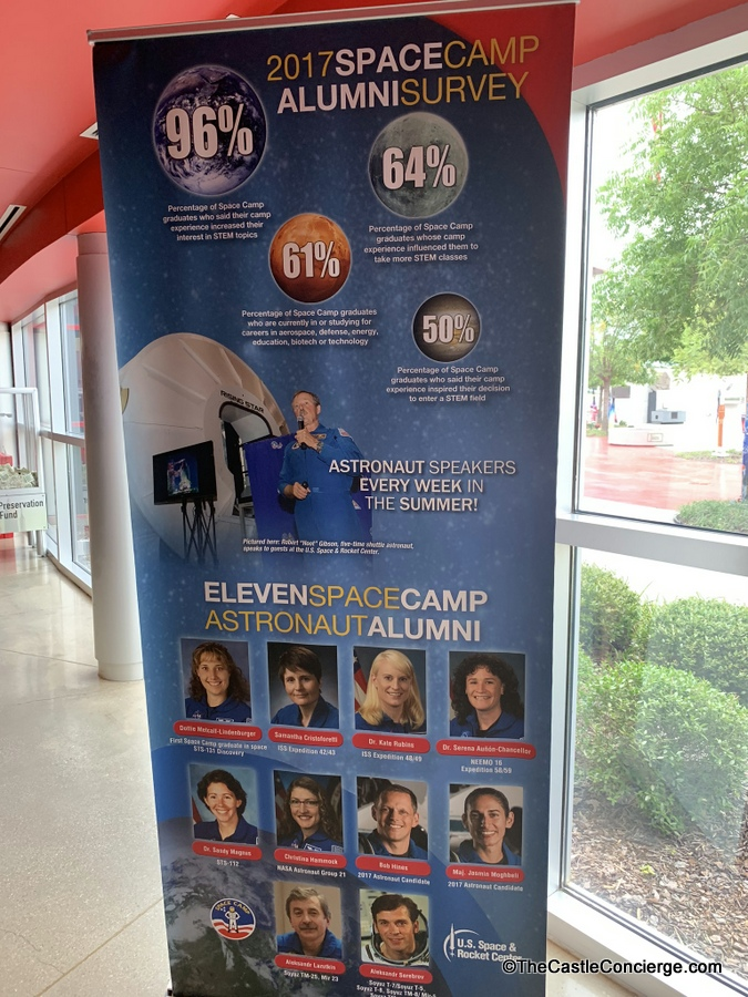 Space Camp Astronaut Alumni Sign