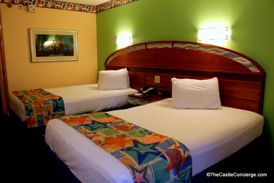 All-Star Music Resort WDW Standard Room