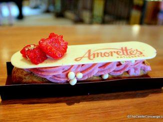 Raspberry Eclair at Amorette's Patisserie
