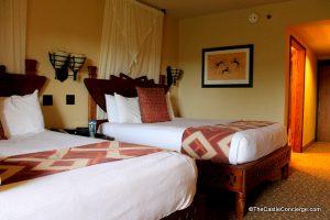 Animal Kingdom Lodge Room at Walt Disney World