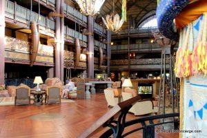 Animal Kingdom Lodge Lobby at WDW