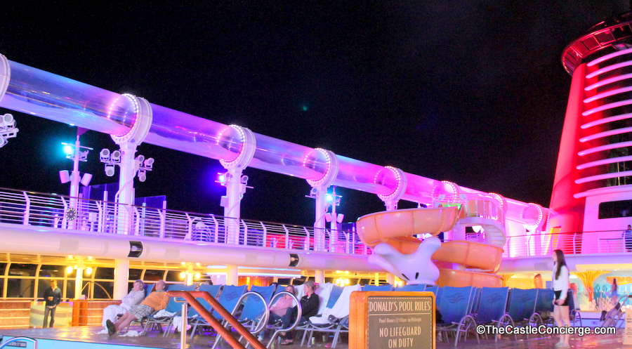 AquaDuck on the Disney Dream