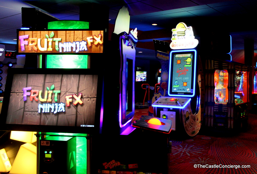 Arcade Disney's Contemporary Resort