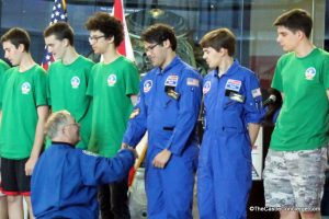 Astronaut Jerry Ross