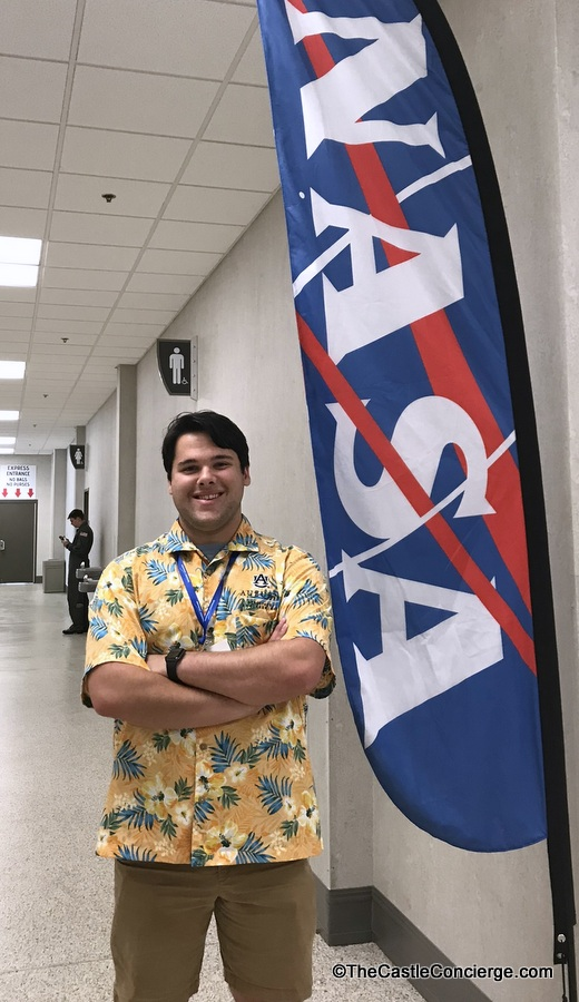 Auburn Student at NASA Launch Competition