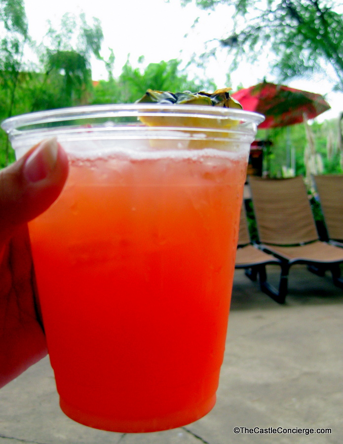 Banana Cabana Adult Beverage at WDW