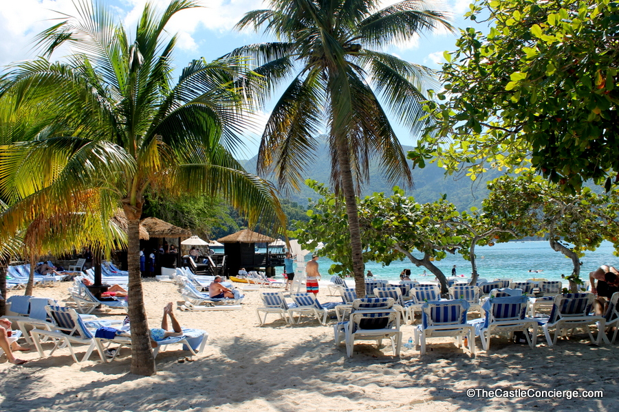 Labadee Haiti is Royal Caribbean's private oasis. Barefoot Beach is an exclusive area for suite guest and those renting cabanas.