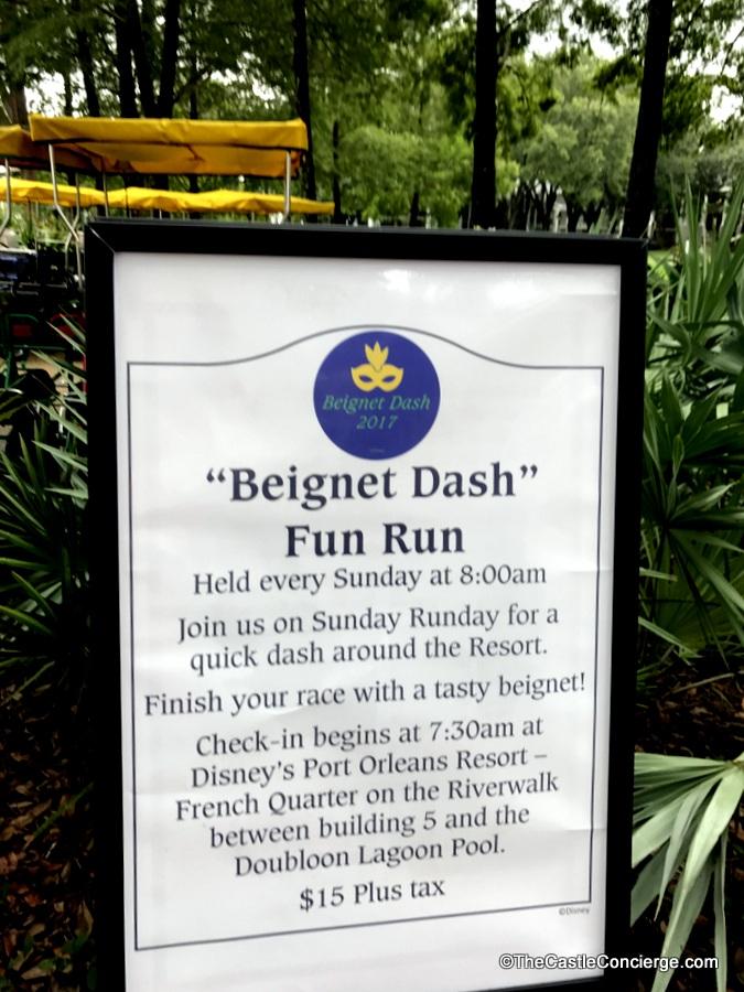 Beignet Dash Fun Run Port Orleans French Quarter
