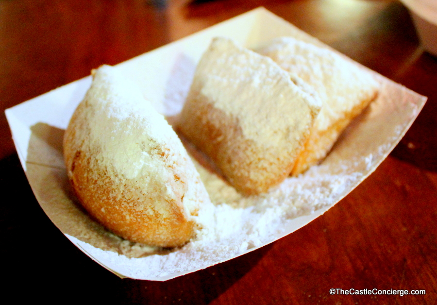 Beignets at Sassagoula Floatworks and Food Factory..
