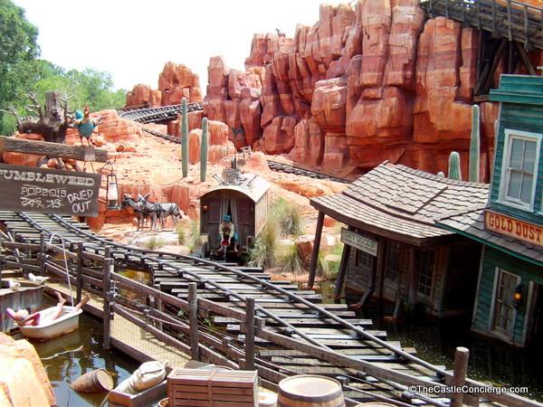 Big Thunder Mountain Railroad, Magic Kingdom, Walt Disney World