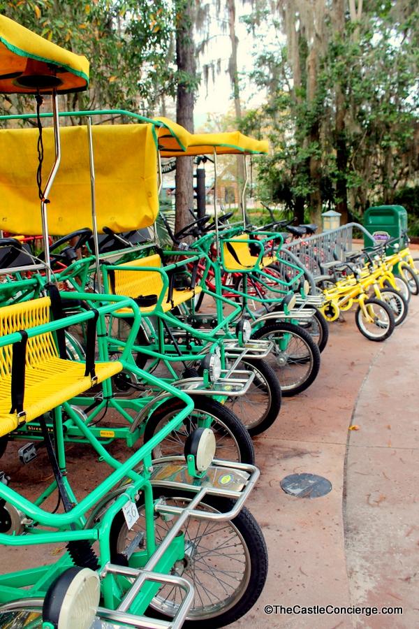 Bike Rentals at Disney's Wilderness Lodge