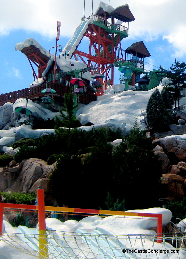 Blizzard Beach Water Park at WDW