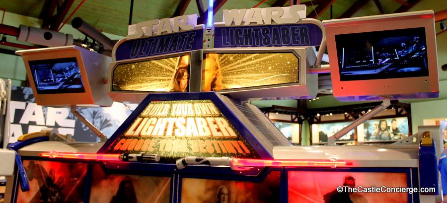 lightsaber station