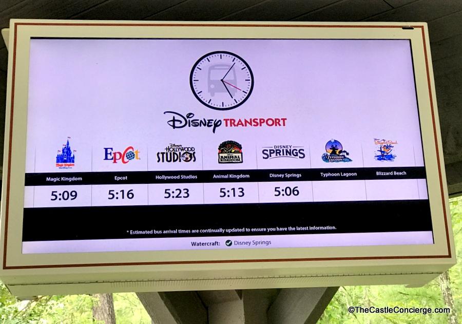 Bus Transport Disney's Port Orleans Riverside