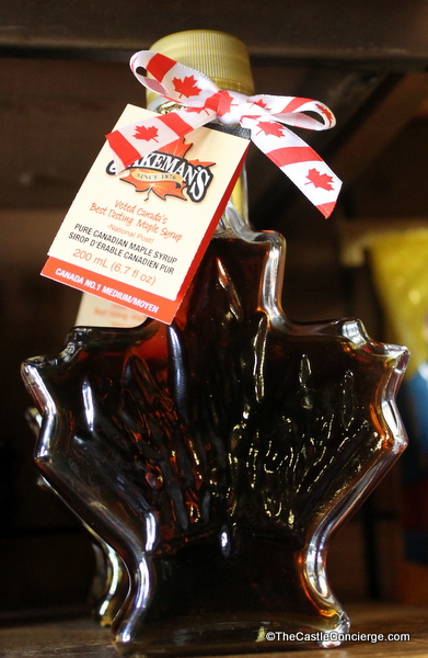 The Canada pavilion at Epcot in Walt Disney World sells delicious maple syrup.