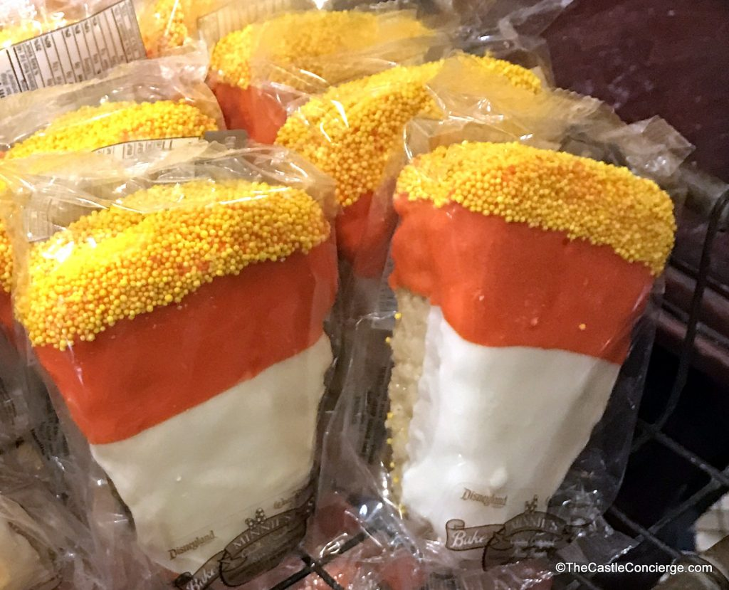 Candy Corn Rice Crispy Treat WDW