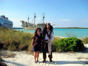 Captain Jack on Castaway Cay