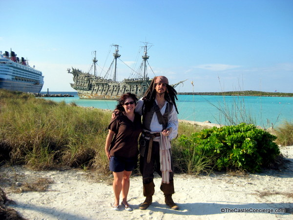 Captain Jack on Castaway Cay