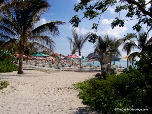 Disney Cruise Line's Castaway Cay Beach