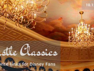 Castle Classics features Disney restaurants, parks, and resorts.