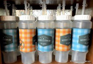 Souvenir cups at Chef Art Smith's Homecomin'.