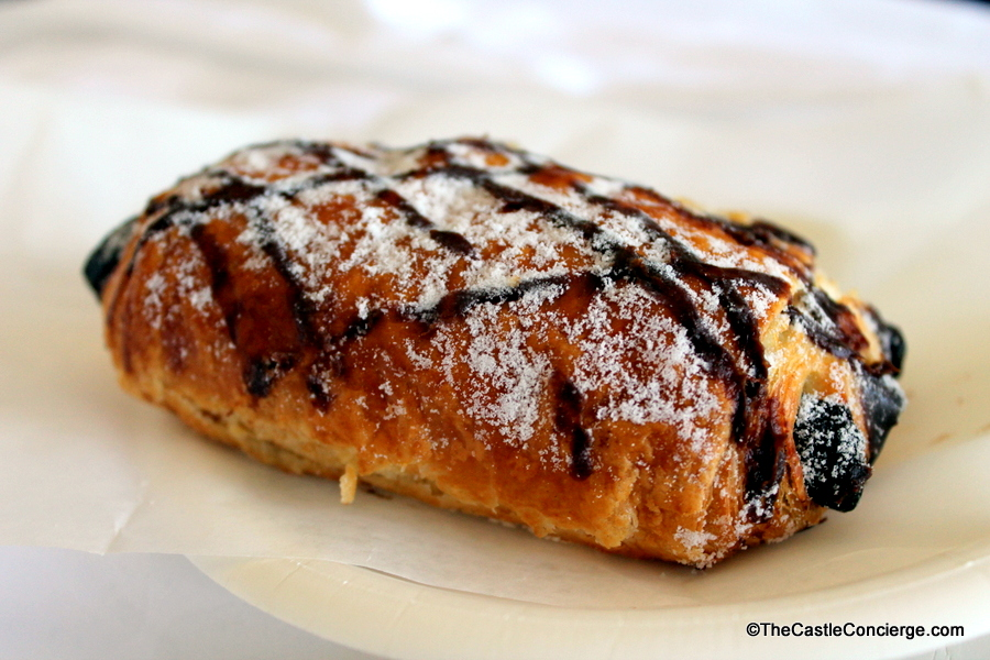 Chocolate Croissant at Walt Disney World