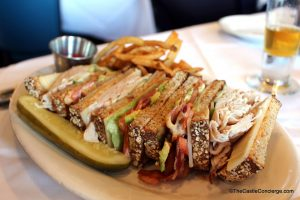 "The ""Yacht Club"" Club Sandwich at The Boathouse."