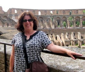Roman Colosseum in Rome, Italy. A bucket list item crossed off.