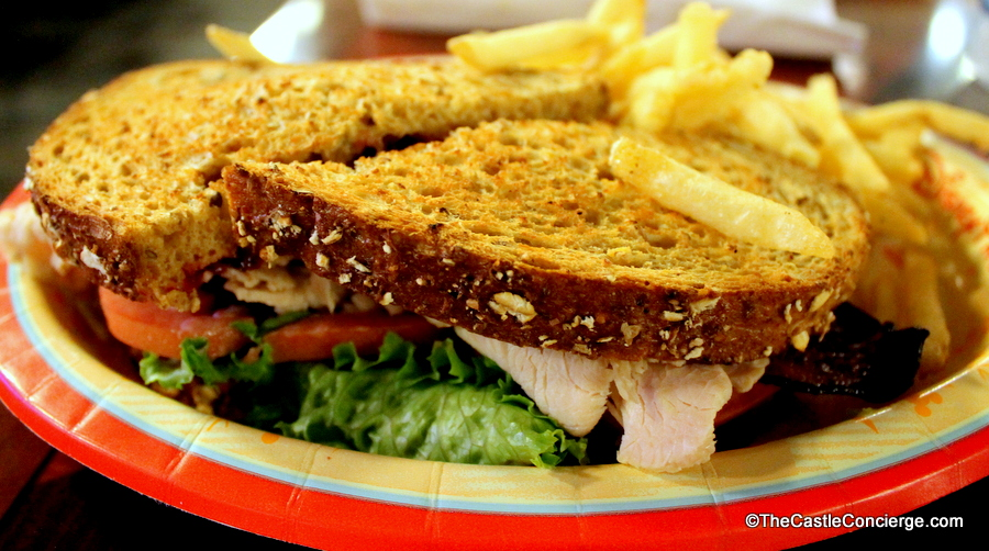 Contempo Cafe serves up sandwiches at Disney's Contemporary Resort