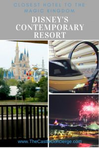 Closest Hotel to the Magic Kingdom is Disney's Contemporary Resort