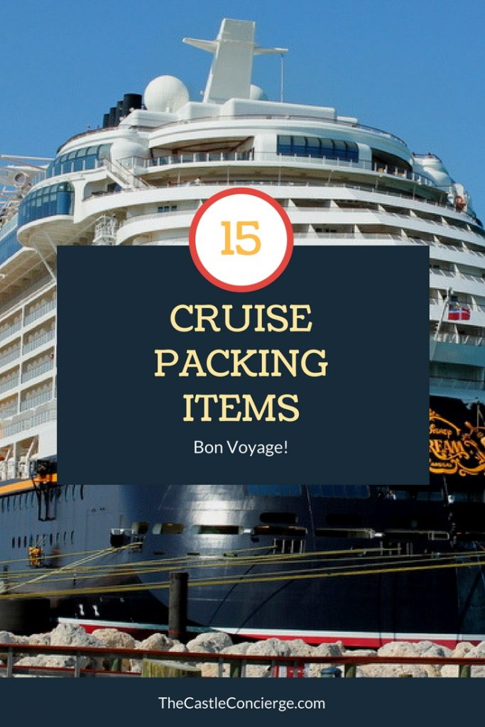 15 Items to Pack for your Cruise.
