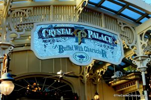 Don't forget to set up a meeting spot with grandparents when touring a Disney Park.
