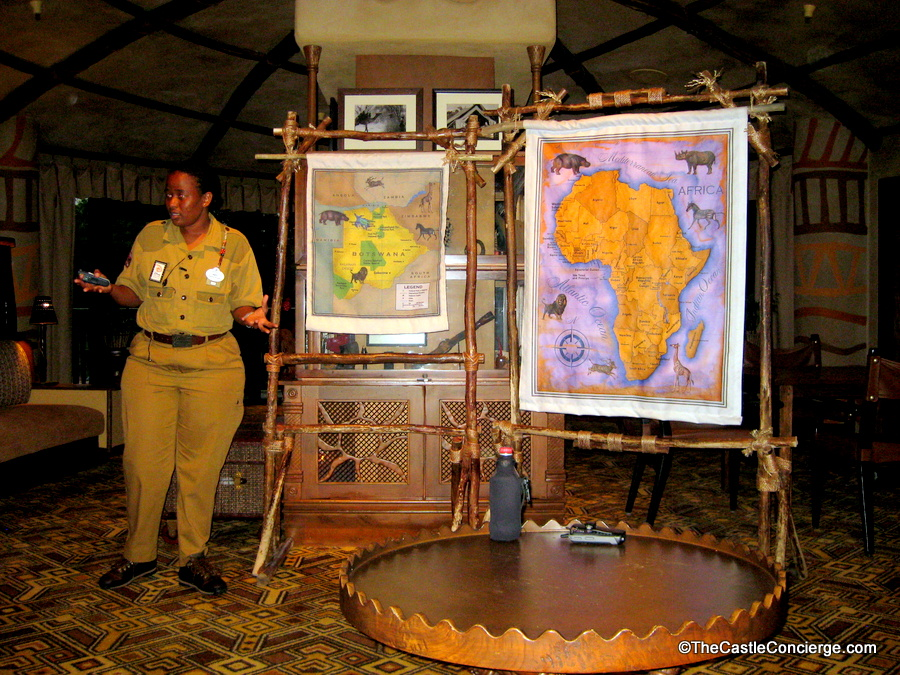 Cultural Safari Talk at Disney's Animal Kingdom Lodge.