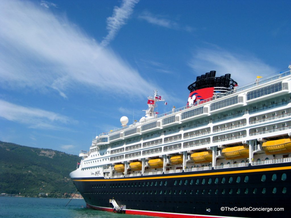 Disney Cruise Line's Magic in the Mediterranean.
