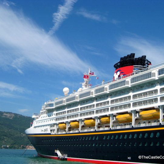 Disney Cruise Line's Magic in the Mediterranean.