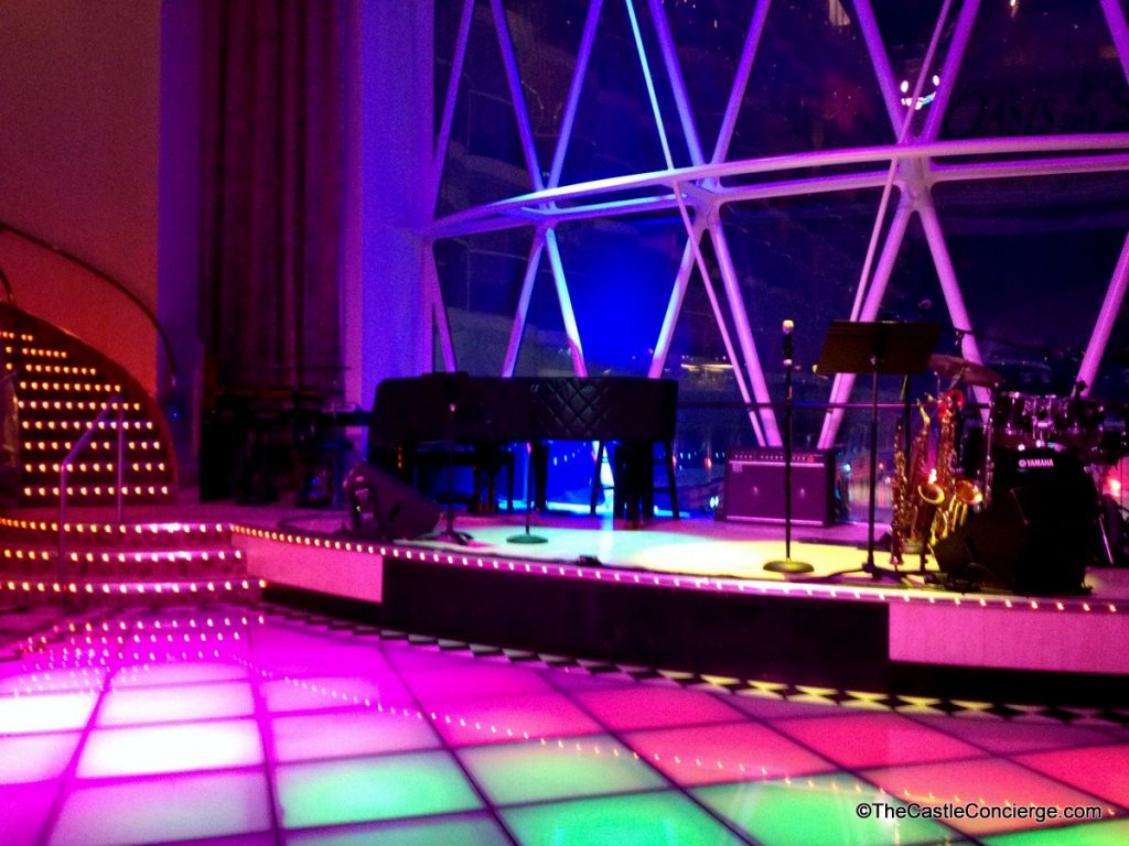 Dance the night away! Dazzles, Royal Caribbean.