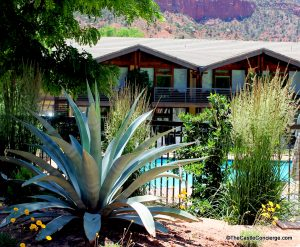 The Desert Pearl Inn at Springdale, Utah is just outside of Zion. One of our favorite Surreal Places.