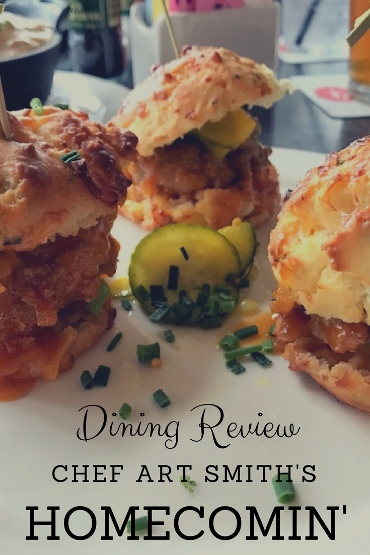 Dining Review for Chef Art Smith's Homecomin' Restaurant.