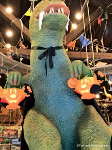 DinoLand Halloween Decorations.