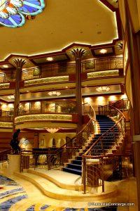 Step inside the Disney Dream's Atrium