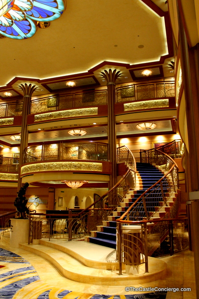 Step inside the Disney Dream's Atrium