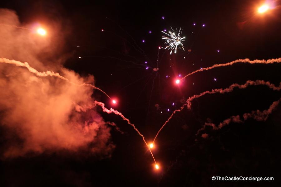 Disney Cruise Line's fireworks