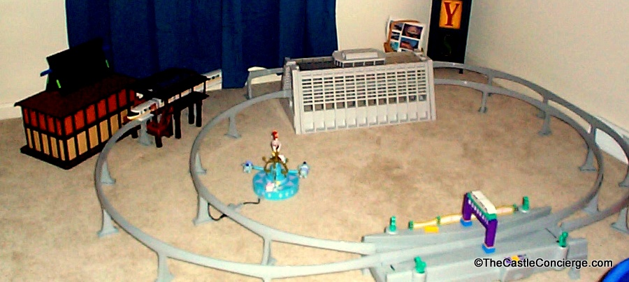 Disney monorail toy playset