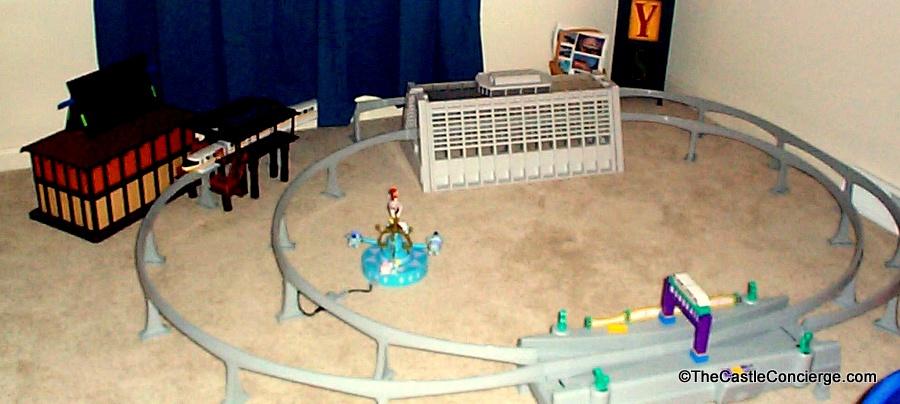 Disney monorail toy playset