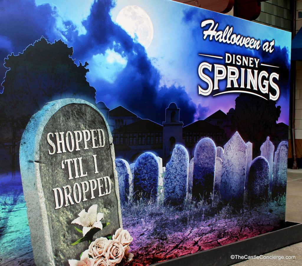 Shop til you drop during Halloween time at Disney Springs.