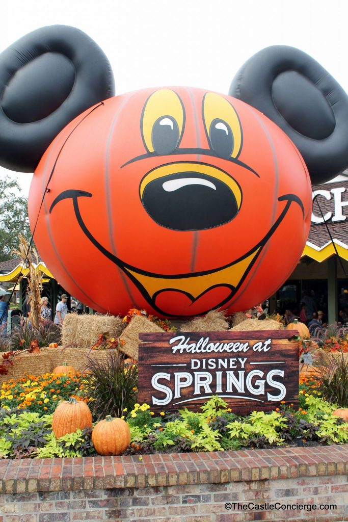 Halloween at Disney Springs.