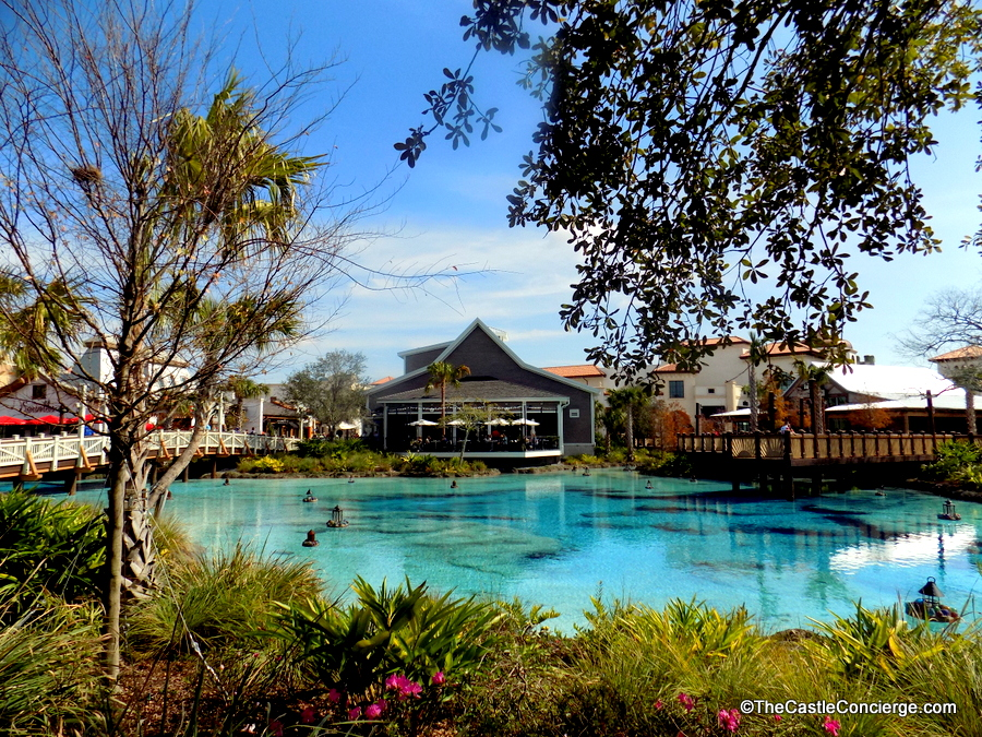 Disney Springs - a great place to unwind.