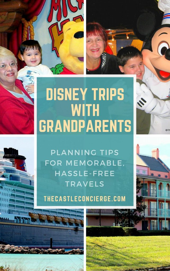 Disney Trips with Grandparents: Planning Tips